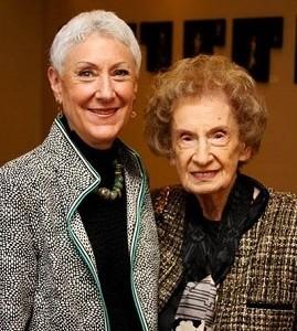 Bernice Tannenbaum with Marcie Natan