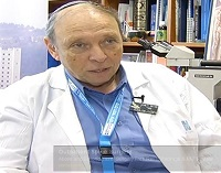 Prof. Reuven Or, head of the Sidney Weisner Department of Bone Marrow Transplantation and Cancer Immunology