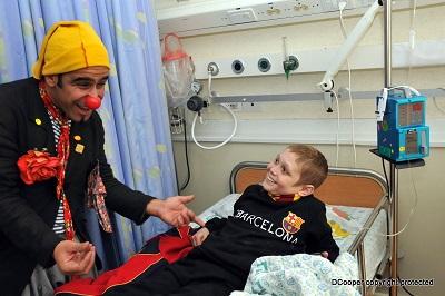 Clown Program: Dream Doctors at Hadassah