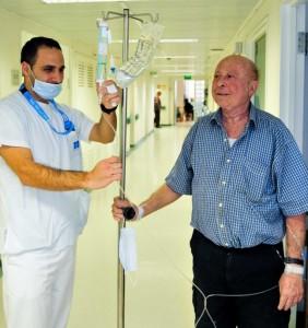 october 9 2012 staff with elderly patien
