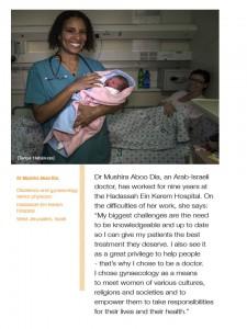 al jazeera, dr dia with patient