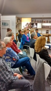 Hadassah Wellington audience listens to Belle Simon
