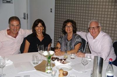 Steve Katz, Ruth Katz, Dalia Finkel, and Ron Finkel