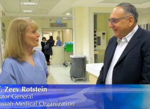 Prof Rotstein talks about the New Operating Rooms