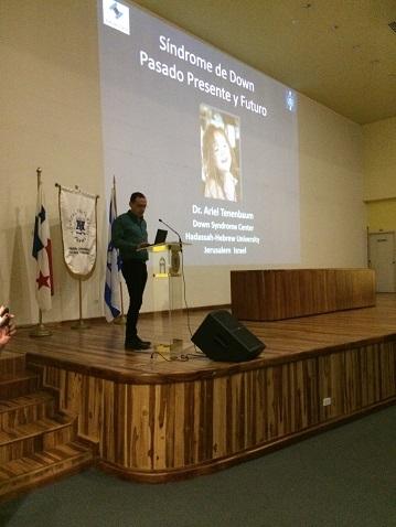 Dr. Tenebaum presenting at San Tomas Hospital