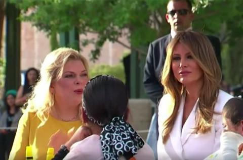 Video: Melania Trump Visits the Hadassah Medical Center, accompanied by Sara Netanyahu