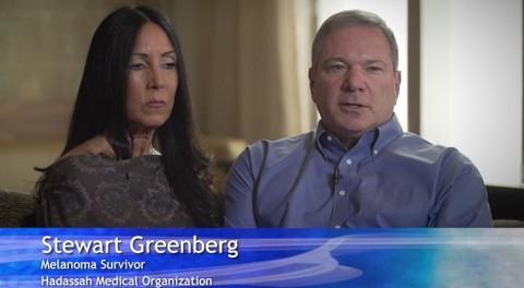 Melanoma Patient Steward Greenberg