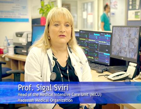 Prof. Sigal Sviri - Director of HMO's Intensive Care Unit
