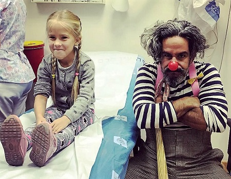 Hadassah Medical Organization Tour with Dush the Clown