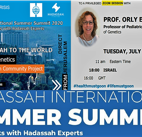 From Hadassah to the World – The Power of Genetics The Mexican Jewish Community Project